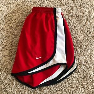 Red Nike Dri-Fit Running Shorts Size XS